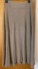 Eileen Fisher Viscose Jersey Pull-on skirt Size Small