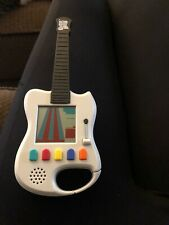 Mini Guitar Hero Electronic Handheld Game Travel Pocket Sized Arcade - TESTED