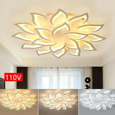 Modern Led Acrylic Light Dimmable Chandelier 18 Heads Ceiling Light Fixture