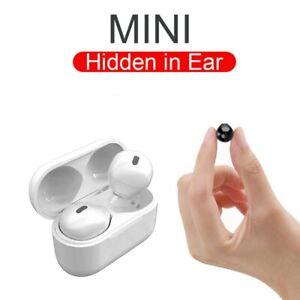 Mini Hidden Wireless Bluetooth Earbuds Earphone Headset Headphones Earphones Ear