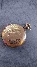 VINTAGE 0 SIZE ELGIN POCKET WATCH GRADE 320 KEEPING TIME