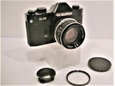 Black Rolleiflex SL35 (Made in Germany!), 50mm f1.8 Carl Zeiss Planar, Eyecup ++