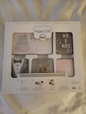 Becky Higgins Project Life Core Kit - Modern Wedding -Scrapbooking Pocket Cards