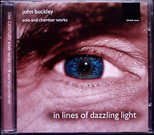John BUCKLEY In Lines of Dazzling Light Saxophone Arabesque Horn Sonata CD