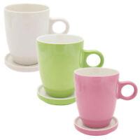 Pickwick Tea Porzellan Tassen + Tee Tips im Set Glas Tee Untertasse