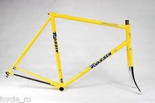 Vintage Rossin Racing Team Steel Frameset 58cm Gipiemme Dropouts Columbus SLX