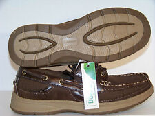 New Mens Croft & Barrow Bronco Boat Shoes Sizes: 8 MSRP $75 Dark Brown