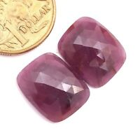 Rose cut Cabochon 17x14x6mm 14 Carat Faceted Ruby Ruby Cabochon Loose Cabochons Gemstones Ruby oval Cabochon Natural Ruby Gemstone