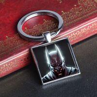 Justice League Batman Key Chain Ring Super Heroes Keychain Alloy Keyring Comics