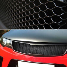 "Aluminum Wire Black Honeycomb Hex Mesh Grille Diy Kit 19""x35"" For All Vehicle"