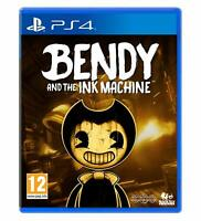 NEW & SEALED! Bendy and the Ink Machine Sony Playstation 4 PS4 Game