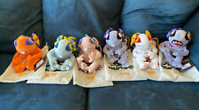 World of Warcraft 6 Piece Murloc Plushie Lot, New In Original Packaging