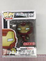 Funko Pop Marvel Avengers — Iron Man 634 (Target Exclusive) MINOR BOX WEAR O021