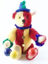 "Steiff The Juggling Harlequin Teddy Bear 66645210-13"""