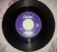 The Louvin Brothers Capitol UK 45 Knoxville Girl, Been a Dream 45-CL 14989 VG