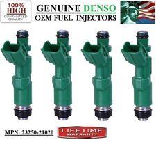 -04-05-06 Scion xA 1.5L I4 - 4unit NEW OEM Denso Fuel Injectors Part#23250-21020