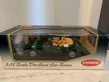 Kyosho 1/ 18 Miata Eunos Roadster Mazda MX-5 NA British Racing Green Diecast