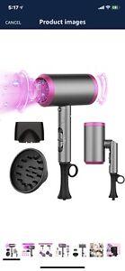 Hair Dryer Travel Foldable, Powerful Hairdryers for Women Lightweight,