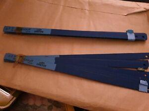 Lot Of 18 SANDVIK Hacksaw Blades sandcut 10 inch sweden blades saw hacksaw blade