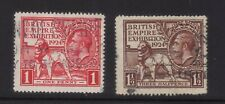 stamps Great Britain Sc#185.6 used set,