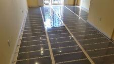 "Infrared floor heating film 200 sq.ft, 220V, width 39 3/8"", 21w/sq.ft"