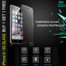 Genuine Tempered Glass 9H Hardness Screen Protector For iPhone 6S - NEW 2 PACK
