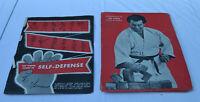 JOE WEIDER Cours de SELF DEFENSE en 12 leçons 1964 BD collector