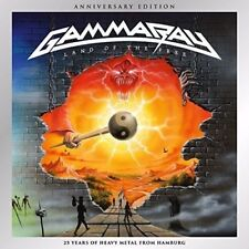 GAMMA RAY - LAND OF THE FREE (ANNIVERSARY EDITION)  2 CD NEUF