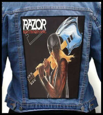 RAZOR - Executioner's Song  --- Giant Backpatch Back Patch