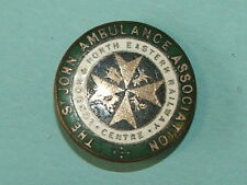 LONDON & NORTH EASTERN RAILWAY ST JOHNS AMBULANCE BADGE -100% ORIGINAL!