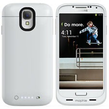 Samsung Galaxy S4 mophie juice pack Battery Case - (2,300mAh) - white used