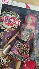 Barbie Tokidoki Pink Hair Mod Tattoos 2015 Black Label Collector Mib Nrfb
