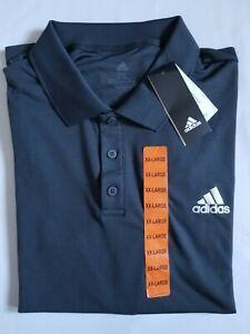 New Adidas Mens Club Rib Climalite Tennis Polo Shirt Soft Lightweight Great Gift