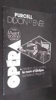 Revista Bi-Bono Opera Purcell Dido Y Eneas Nov - Dic 1978 N º 18 Buen Estado