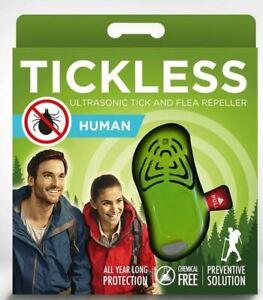 Tickless Human/Hunter-Ultraschallabwehr gegen Zecken/Flöhe für Erwachsene