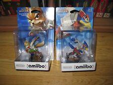 Lote Amiibo Super Smash Bros Fox & Falco - Nuevo y Precintado - Nintendo Switch