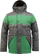 BURTON Men's TWC WARM AND FRIENDLY Snow Jacket - JetPack/TreeFrog - Large - NWT