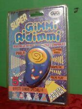 Gimmi Ridimmi GIG vintage NUOVO BLISTERATO