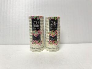 Lot of 2 Crazylibellule The Crazy Sticks Solid Perfume, 26 Juin Ile d'Yeu