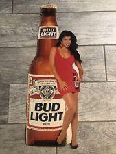 Budweiser Vintage Promo Advertising Thin Cardboard Display 23�x9�.