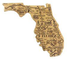 Totally Bamboo - Destination Florida Board - 13-1/2 x 12-1/4 x 5/8 in