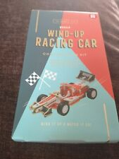 Wooden Wind Up Racing Car
