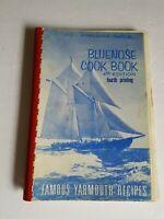 YMCA Bluenose Cook Book 4th Edition Vintage Cookbook Recipes
