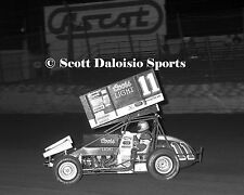 ORIGINAL ASCOT PARK 1988 STEVE KINSER WORLD OF OUTLAWS SPRINT CAR PHOTO