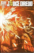 Judge Dredd Comic 28 Subscription Cover IDW 2015 Swerczynski Daniel