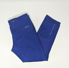 Nike Women's Blue Dri-Fit Running Capri Pants Size XS