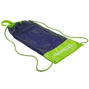 Rapido Boutique Collection Mask Fin Snorkel Net Bag for Scuba Snorkeling & Swim