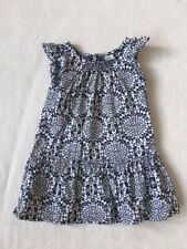 ***Oshkosh baby girl Monochrome cotton dress 2 years EXCELLENT!***