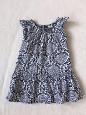 ***Oshkosh baby girl Monochrome cotton dress 2 years EXCELLENT!***