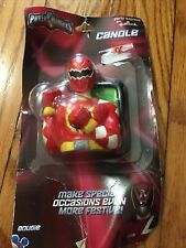 Power Rangers SPD Birthday Party RED RANGER Candle - Brand New Sealed
